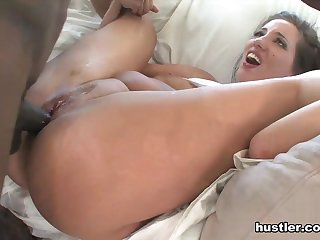 Interracial Cheerleader Orgy #2 - Hustler